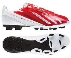 ADIDAS F5 TRX FG - MESSI (RUNNING WHITE/DARK ORANGE/BLACK (MESSI) (7) adidas. $49.95