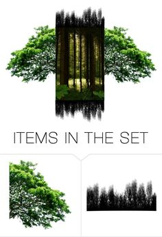 """""""Forest"""" by bambi-52 ❤ liked on Polyvore featuring art"""
