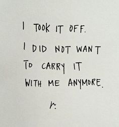 ignite light:  I took it off.  I did not want to carry it with me anymore.