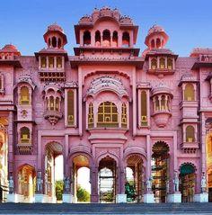 Architecture in Jaipur.