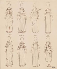 Three years ago I uploaded here some doodles of ancient Greek dresses I did for my own personal use. Some people told me that they found those use. Ancient Greek Dresses Vol 2 Ancient Greek Dress, Ancient Greek Clothing, Ancient Greek Costumes, Ancient Greek Art, Greek Mythology Costumes, Ancient Greek Theatre, Clothes Draw, Drawing Clothes, Historical Costume