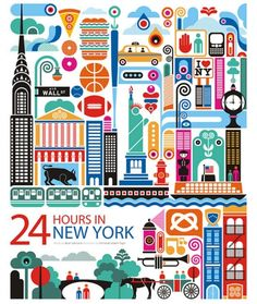 24 hours in New York poster