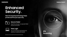 Samsung's new Galaxy Note 7's iris scanner brings new security to your phone and mobile payments but with some caveats #Note7 #android #Samsung #GalaxyNote7 #irisScanner