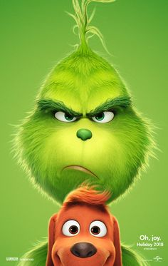 Seuss' The Grinch is returning to theatres voiced by Academy Award nominee Benedict Cumberbatch! Check out the just released The Grinch movie trailer! Watch The Grinch, The Grinch Movie, The Grinch Cartoon, Max From The Grinch, Mr Grinch, Grinch Stole Christmas, Christmas Carol, The Grinch Dog, Christmas Decor
