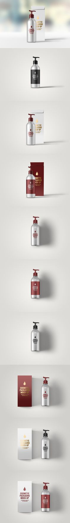 Cosmetic Packaging Mock-Up