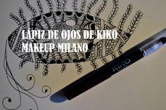 13. Lápiz de ojos marrón de KIKO Makeup Milano: Para ampliar la mirada aplico en la línea inferior de las pestañas un eyeliner marrón que amplia los ojos pero de forma más natural que el negro.