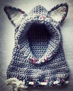 Crochet Baby Hat  Winter  Hat with Ears :)