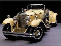1926 Mercedes Benz K The only yellow car I'd own. Mercedes Auto, Mercedes Sport, Bmw Classic Cars, Classic Mercedes, Buick, Tc Cars, Vintage Cars, Antique Cars, Vintage Ideas