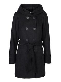 Long woolen coat from VERO MODA. We love to keep you warm during the winter season.