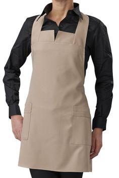 This Choice of 2 pocket apron is a stylish alternative to plain bib aprons. Cool Aprons, Hooded Poncho, Bib Apron, Apron Pockets, Showroom, Looks Great, Stylish, Jackets, Bar