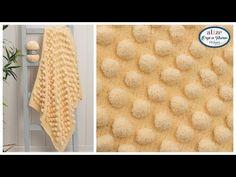 Alize Softy Plus ile Battaniye Yapımı - Blanket with Our New Quality Alize Sof. Knitting Videos, Crochet Videos, Crochet Flower Tutorial, Crochet Flowers, Small Crib, Gilet Long, Crochet Designs, Baby Dress, Crochet Baby