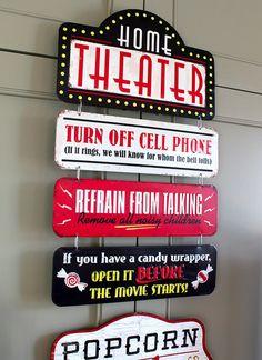 Best Vintage Movie Signs