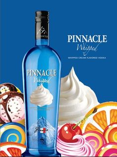 My new favorite!  Whipped Cream Vodka... add to orange pop, Dr. Pepper, orange juice, etc..... yummy!  They have tons of flavors I want to try sometime!