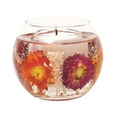 Dahlia Natural Wax Fishbowl by Stoneglow Scented Candles: Mommy would also love this!