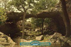 New Braunfels, Texas natural bridge caverns -