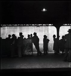 Elliott Erwitt - New York City, 1948. From Elliott Erwitt/Magnum Photos