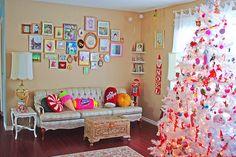 arboles navideños decorados vintage - Buscar con Google