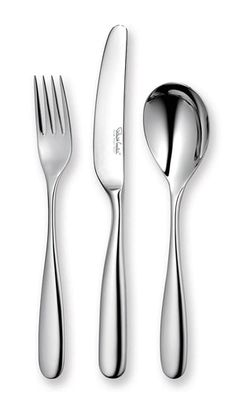 72 PEICE JULIA STAINLESS STEEL SILVER DETAIL SUPREME QUALITY TABLE CUTLERY SET
