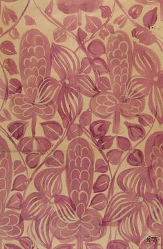 Raoul Dufy pattern design