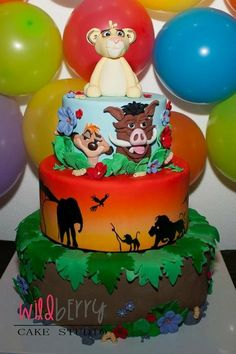 Lion King Cake Decorations Uk : 1000+ images about Lion King cake on Pinterest Lion king ...