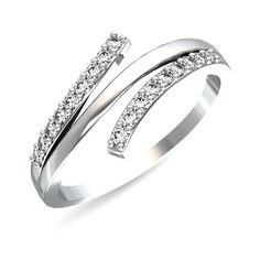 Jewellery & Watches Dedicated 0.40 Ct Certified Real Diamond Engagement Ring 14k Solid White Gold Size N M J K Diamond
