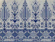 sum-lara — «схема» на Яндекс.Фотках Cross Stitch Art, Cross Stitch Borders, Cross Stitch Designs, Cross Stitching, Cross Stitch Patterns, Folk Embroidery, Cross Stitch Embroidery, Embroidery Patterns, Blackwork