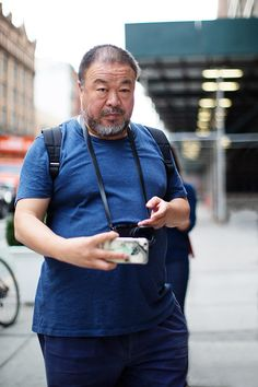 cool On the Street…Ai Wei Wei, New York