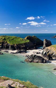 Kynance Cove, Cornwall - Our favorite beach in Britain.