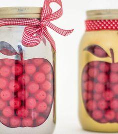 Apple Mason Jar