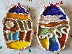 Keramika zdobená sklem - práce předškoláků našeho výtvarného studia. Sugar, Cookies, Desserts, Food, Crack Crackers, Tailgate Desserts, Deserts, Biscuits, Essen