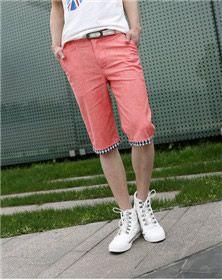 HIEND Men's Casual Cotton Shorts 27$USD Mens Summer T Shirts, Cotton Shorts, Bermuda Shorts, Polo Shirt, Men Casual, Clothes, Fashion, Outfits, Moda