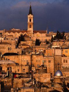 Buildings in the Old City, Jerusalem, Israel