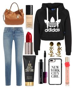 """Untitled #10337"" by ohnadine on Polyvore featuring Frame, Michael Kors, MAC Cosmetics, Casetify, Juicy Couture, Urban Decay, Gucci, Yves Saint Laurent and Victoria's Secret"