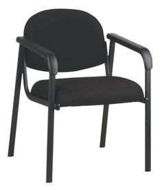 Work Smart EX35-231 Designer Plastic Visitor Chair with Shell Back
