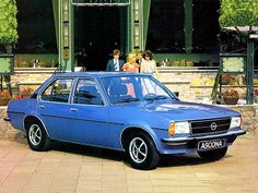Opel Ascona (1975 – 1981).Had my first lessons in one of these