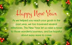 New year wishes images with quotes pinterest poem business clients new year wishes m4hsunfo