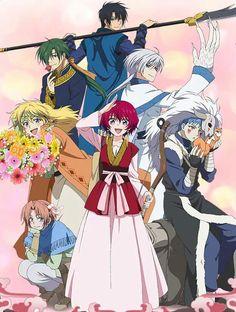 Akatsuki no yona - good anime, but the manga is sooooo good