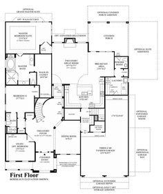 Toll Brothers - Merida 1st Floor | Dream Home | Pinterest | House ...