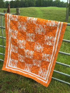 Tennessee Quilt by NeNesQuilts on Etsy