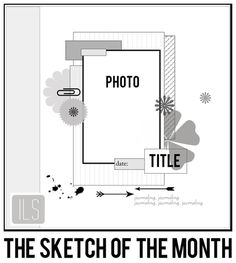 ILS - scrapbooking: The sketch of March