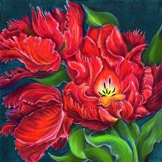 огненный цветок, оригинал