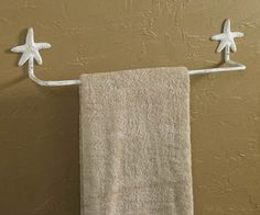 Cute towel rack!