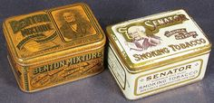 Two Tobacco Tins - by Showtime Auction Services