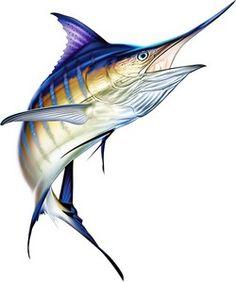 Sailfish Profile Decal Bumper Sticker Gifts Men Fishermen Fish Fishing Deep Sea