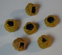 Knot gold- Knoten gold Knot for rustic lampshade suspension -