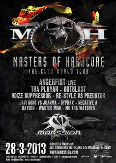 Masters of Hardcore en Manssion (Benidorm)
