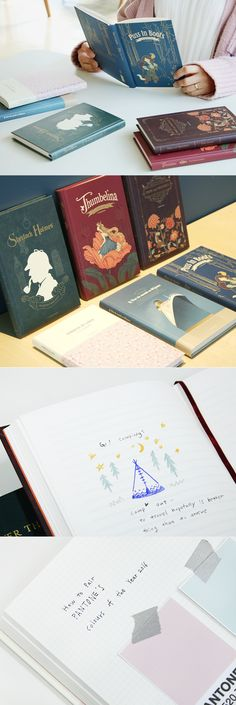 These beautiful notebooks are themed after our favorite stories and and…