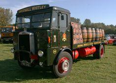 Leyland Beaver Greenall & Whitley. Otley Vintage Rally 142 | by Frank Hilton. Vintage Trucks, Old Trucks, Classic Trucks, Classic Cars, Warrington Cheshire, Old Lorries, British Rail, Motor Sport, Commercial Vehicle