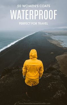 Outdoor Travel gear 50 Raincoats Perfect for Travel. Here are 50 of the best womens waterproof jackets around. We cover the best lightweight, packable and stylish raincoats for weather protection on your trip. Stylish Raincoats, Raincoats For Women, Packing List For Travel, Travel Tours, Travel Hacks, Travel Ideas, Travel Destinations, Packing Hacks, Packing Lists
