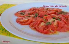 THERMOFAN: Tomate rosa, falso carpaccio (T)